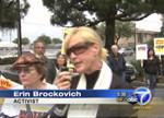 Carson Protest Brockovich