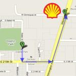 Map Shell Carson