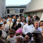 Carson residents were  held at the door while supporters of the  Oxy project were let in