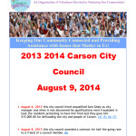 2013 2014 Carson City Council