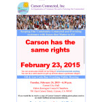 Carson has the same rights