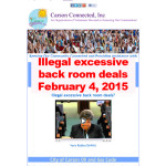 Illegal excessive back room deals copy