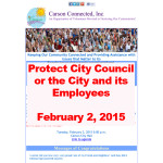 Protect City Council or the City and its Employees