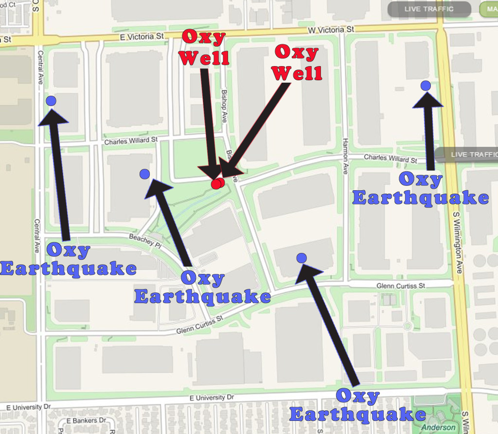 Oxy Earthquakes